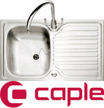 View Item Caple Crane 90 1.0 Bowl Satin Stainless Steel Kitchen Sink CR90SS